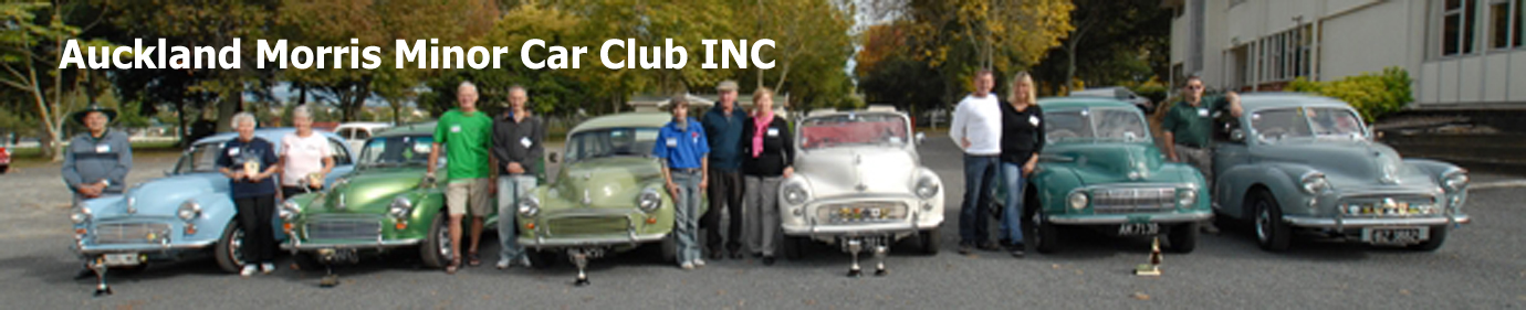 AUCKLAND MORRIS MINOR CAR CLUB INC